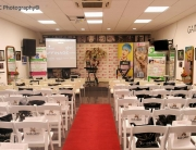 The Academy set up for Style Sessions